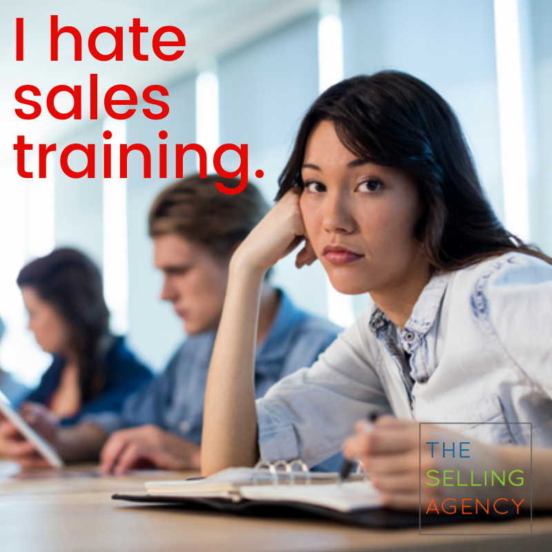 I Hate Sales Training