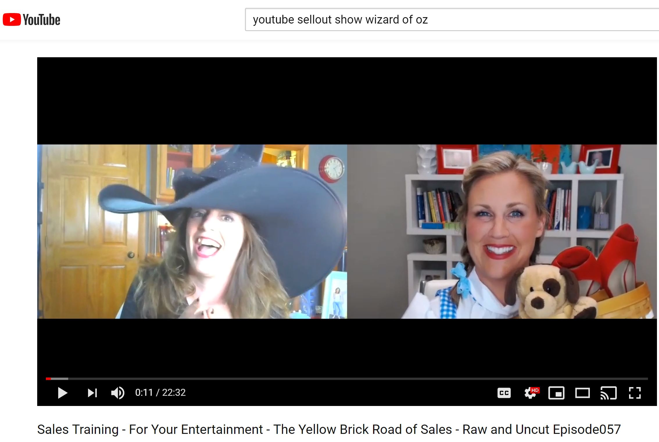 SellOut Show Yellow Brick Road of Sales with Shawn Karol Sandy and Dianna Geairn