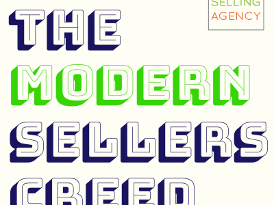 The Modern Sellers Creed_Helping vs Selling