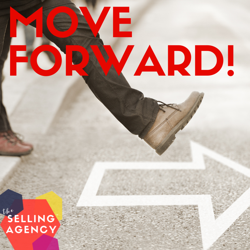 Don't just follow up ... Move it Forward