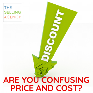 Sellers, Are You Confusing Price for Cost