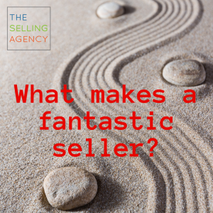 Well Rounded sellers have charisma