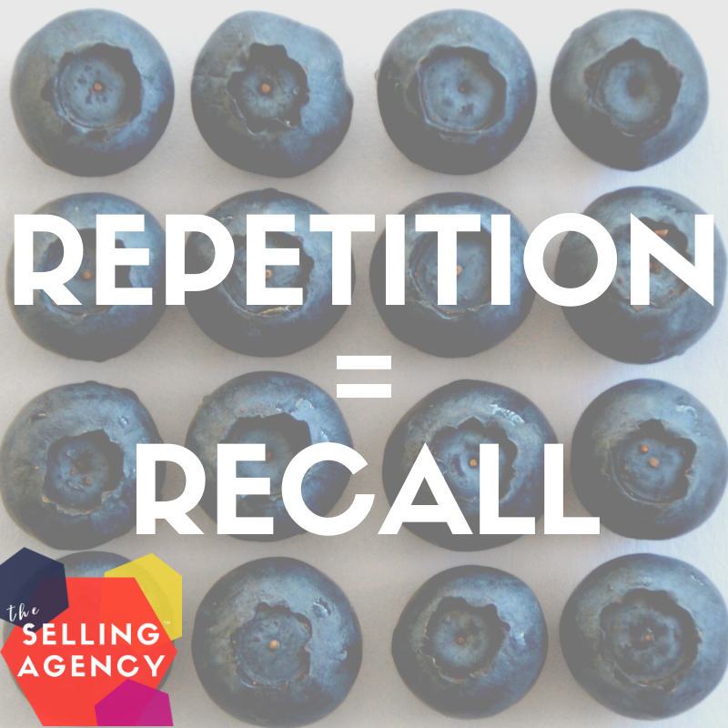 The power of repetition