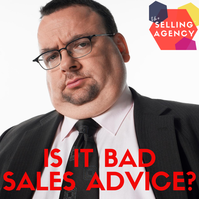 Be Wary of GROSS Sales Advice