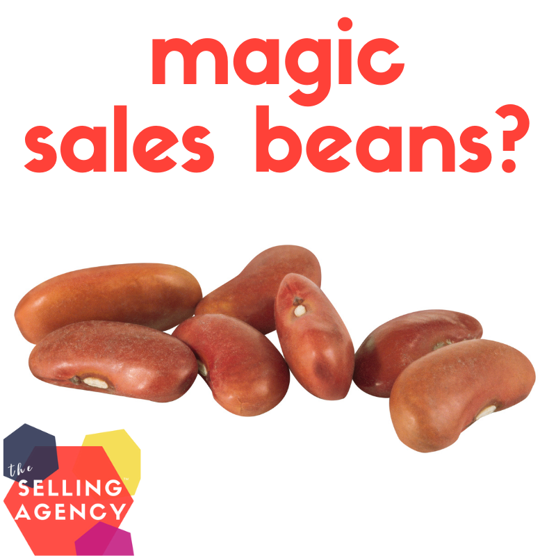 THERE ARE NO MAGIC SALES BEANS