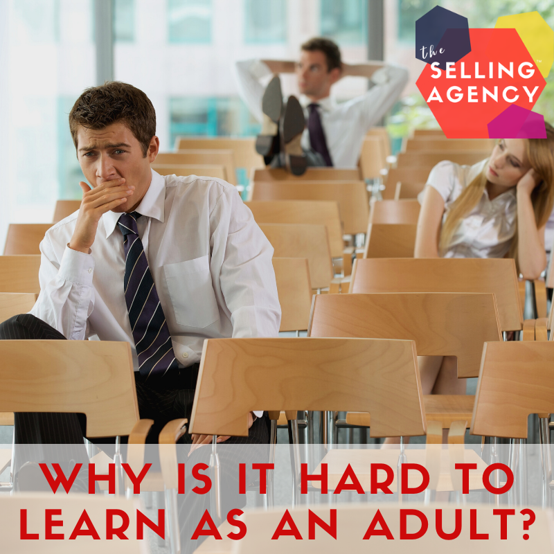 Why is adult learning so hard