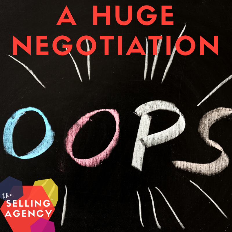 The FIRST and WORST Sales Negotiation Mistake
