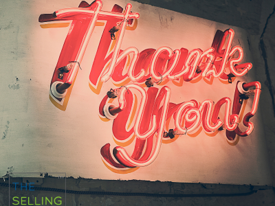 3 Points of Gratitude for Salespeople