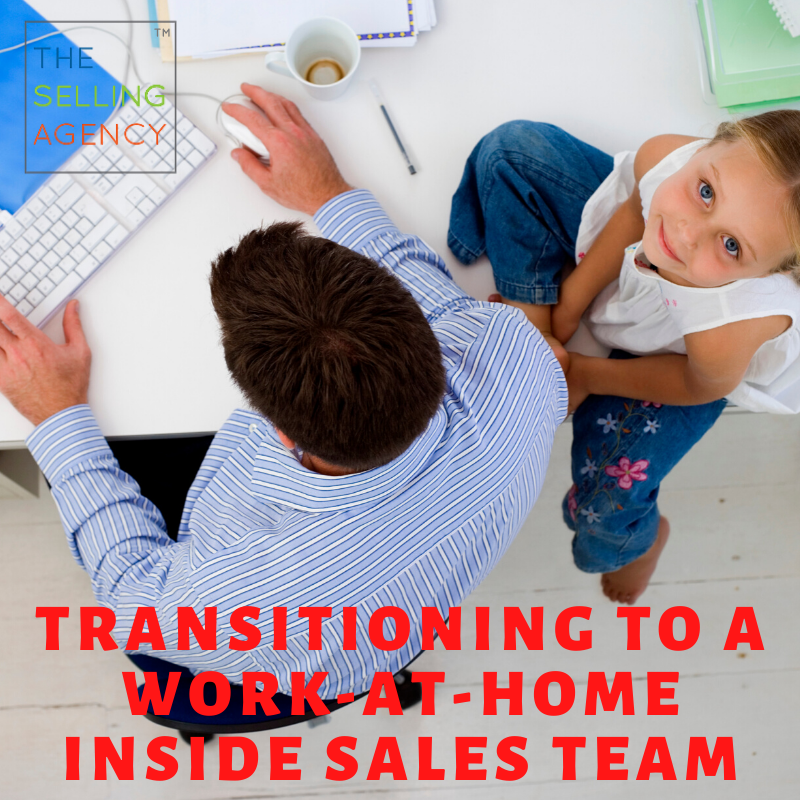 Making the transition from FIELD SALES to Work At Home Inside Sales