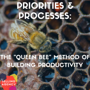 Productivity through priorities and processes