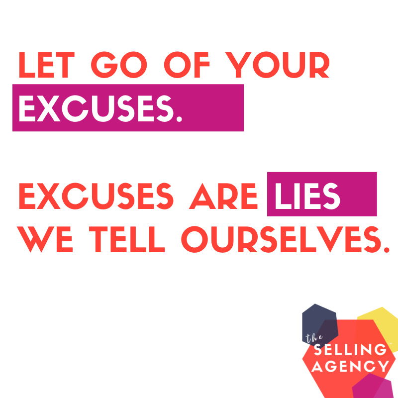 let go of your excuses