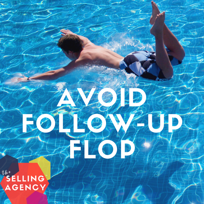 Avoid the Sales Email Follow Up Flop