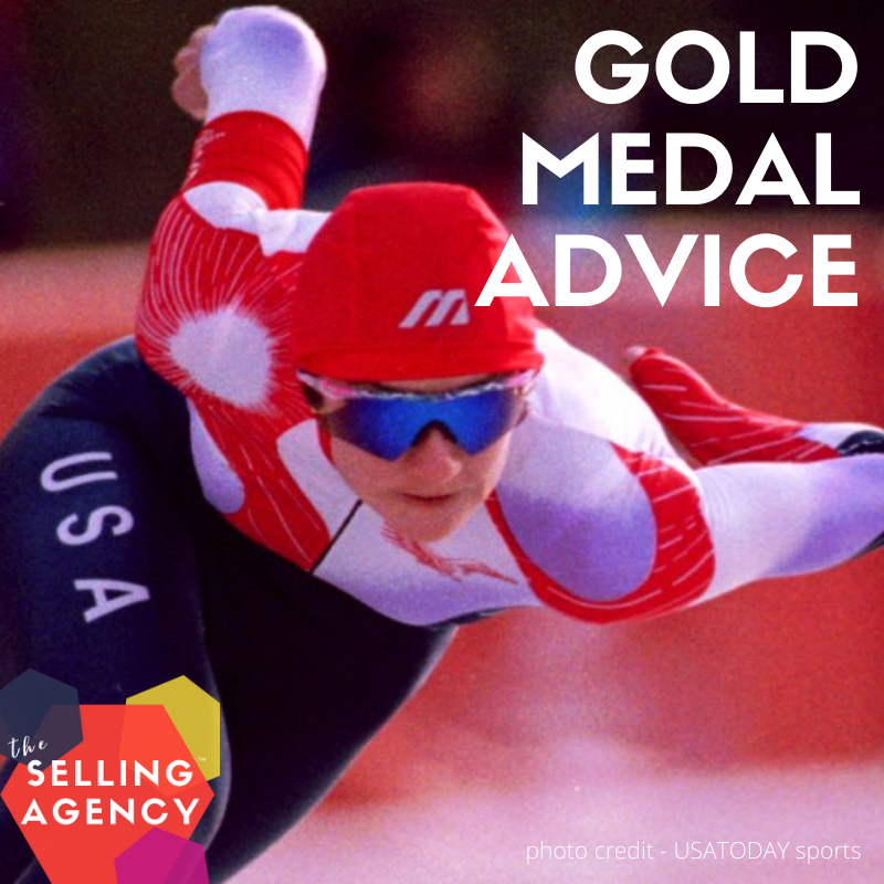 Gold Medal Sales (and life) Advice from Olympian Bonnie Blair
